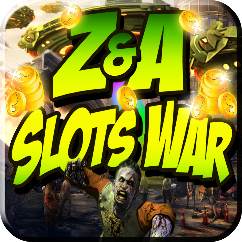 Zombies VS Aliens Casino Slots War - Fun 777 Slot Gambling Style Simulator with Zombie & Alien Battle Theme (Free HD Edition)