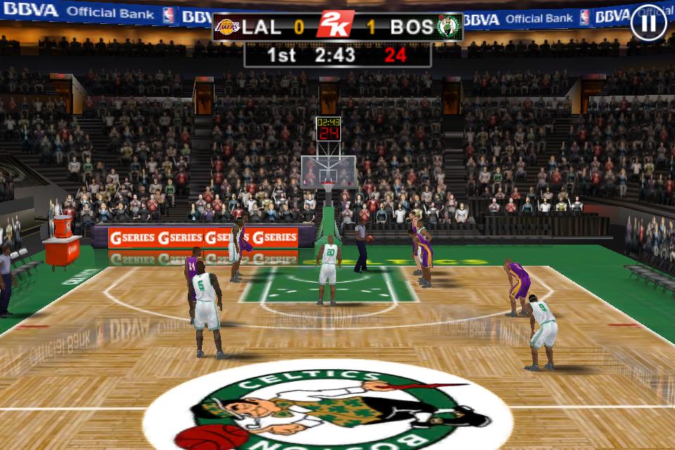 Screenshot NBA 2K12 for iPhone